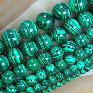 Hot-Pure-Natural-Malachite-Bead-Semi-precious-Stone-Strands-Jewelry-Loose-Beads
