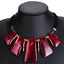 Fashion-Jewelry-Crystal-Choker-Chunky-Statement-Bib-Pendant-Women-Necklace-Chain thumbnail 29