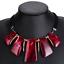 Fashion-Jewelry-Crystal-Choker-Chunky-Statement-Bib-Pendant-Women-Necklace-Chain miniature 29