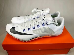 NEW NIKE ZOOM SUPERFLY R4 SPIKES UNISEX MANY SIZES WHITE