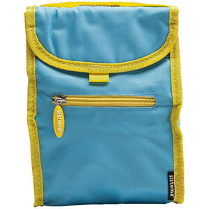 Sistema-Blue-Fold-Up-Insulated-Cooler-Lunch-Bag-Kids-School-Snack-Picnic-Food