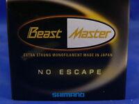 Monofilo Shimano Beast Master 0,14 2,2kg 150 mt pesca spinning trota torrente