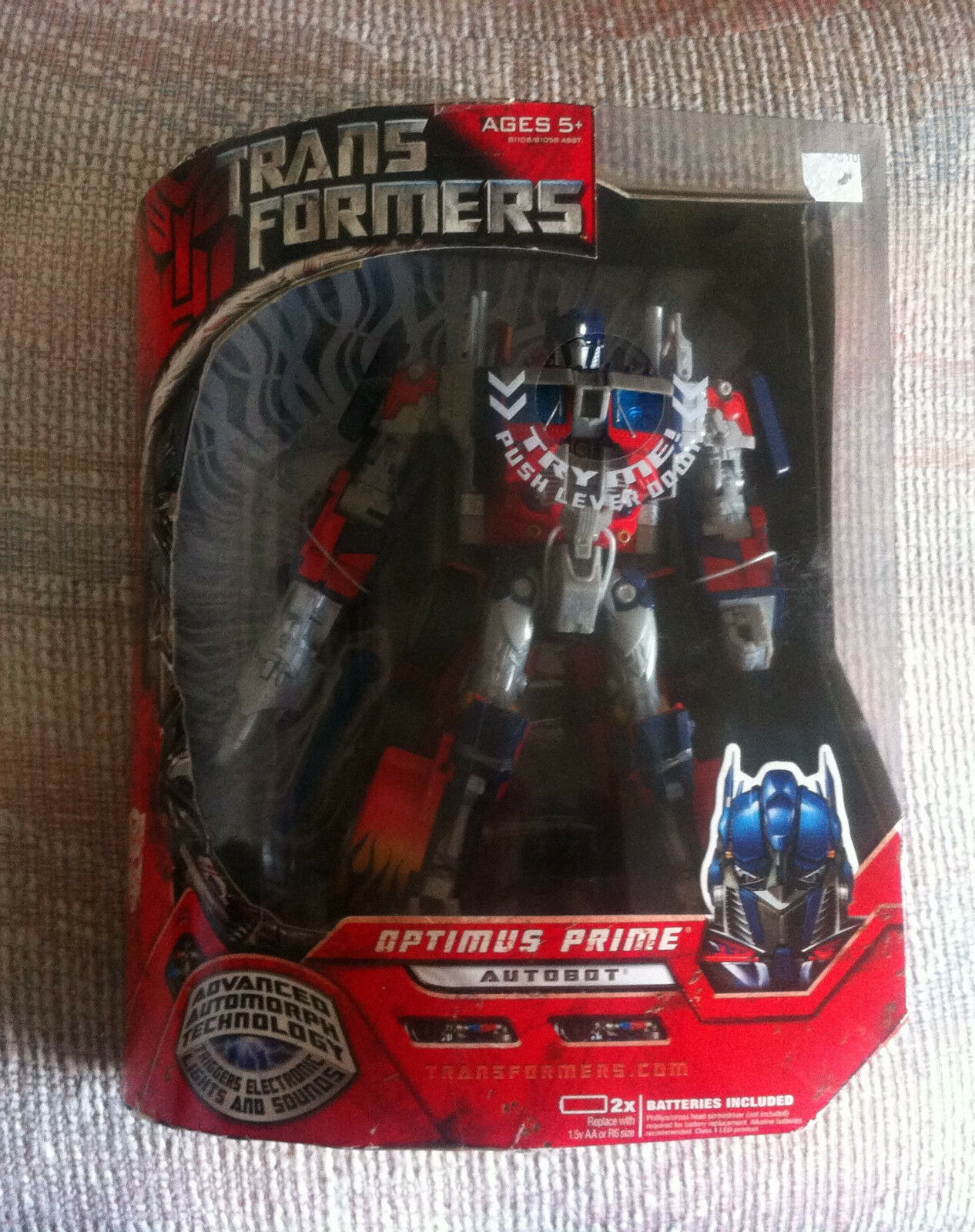 Transformers Movie Leader Class Optimus Prime Comme neuf IN BOX