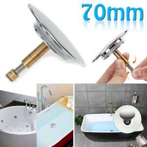 70mm Tub Stopper Replacement Bathtub Plug Brass Bathroom Waste Drain Accessory Ebay
