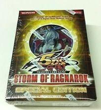 YuGiOh 5D's Storm of Ragnarok Special Edition SE FACTORY SEALED Deck/Box 3 Packs