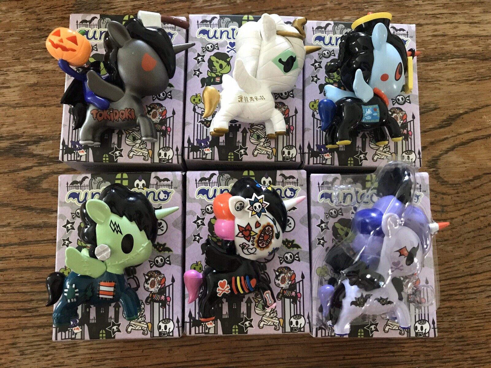 FULL SET Tokidoki Halloween 2019 Lot Unicorno Jumper Chase Spooky La Catrina