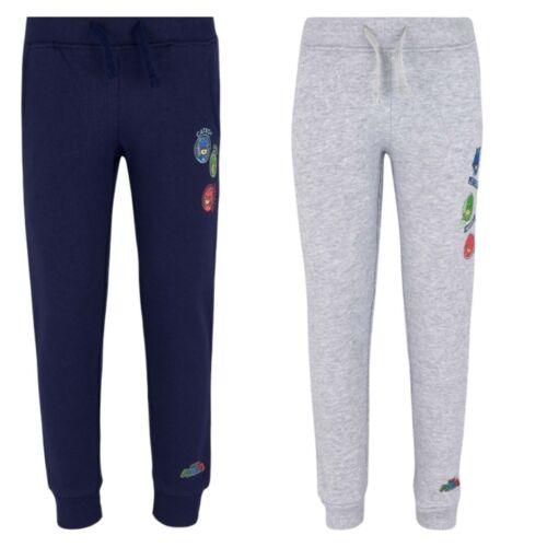 Garçons Short Pantalon Jogging PJ Masks gris bleu pyjama héros 98-128 #606