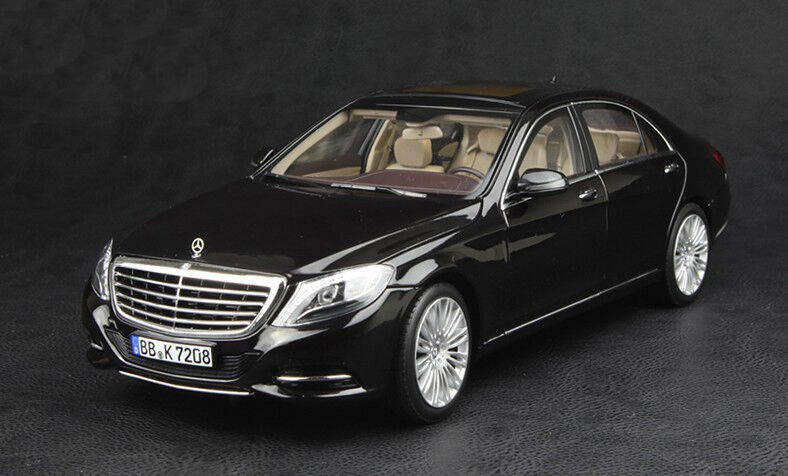 Mercedes Clase S S600 W222 Negro 1:18 Norev