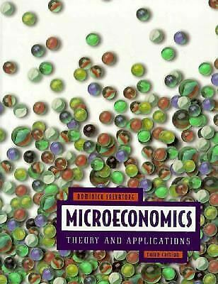 Microeconomics Hardcover Dominick Salvatore