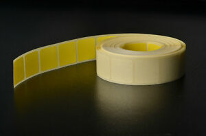 1000-COLOURED-STICKERS-19MM-X-19MM-YELLOW-SQUARE-STICKY-SELF-ADHESIVE-LABELS