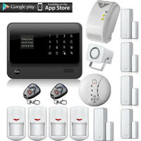 2017 Wifi Gsm Gprs Home Burglar Smoke Gas Alarm System Ios/android App Control