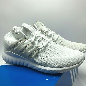 quality design 2388a c765c Details about *NEW* MENS ADIDAS ORIGINALS TUBULAR NOVA PK PRIMEKNIT WHITE  (S80106), Sz 7.5-13