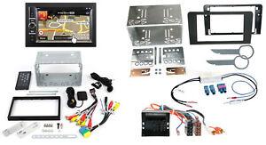 AUDI-A3-8pa-07-12-2-din-autoradio-Navi-Set-Montaje-Cable-adaptador