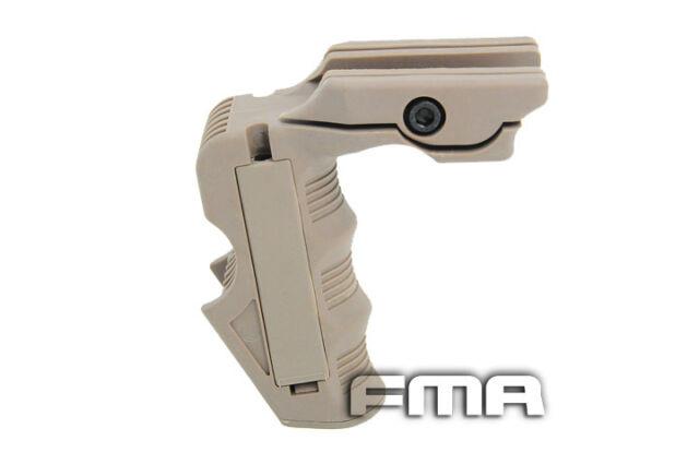 FMA Polymer Rail MagWell / Grip for Airsoft M4 Series - Tan (TB500)