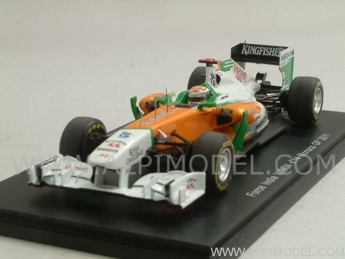 profitto zero Force India VJM04 VJM04 VJM04 GP Monaco 2011 Adrian Sutil 1 43 SPARK S3024  trova il tuo preferito qui
