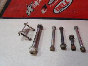 1991 KTM SX 250 MX ENGINE MOUNT + BOLTS 91 SX250 MX250