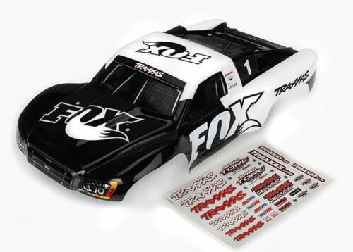 Traxxas Slash 4x4 Fox Edition Painted Body /& Decals TRA6849
