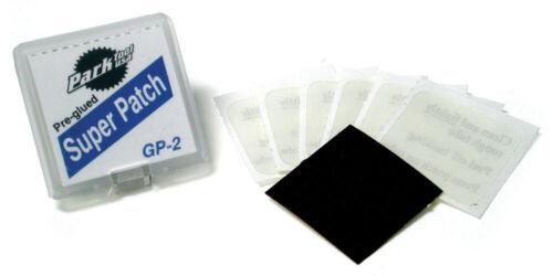 Park Tool GP-2 Pre-Glued Super Patch Kits contain 24x repair patches Bulk Buy