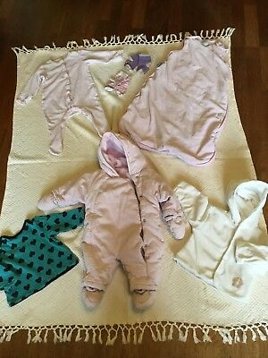 Baby & Toddler Clothing Bundle Of Girls Clothing Aged 3-6 Months 5 Items Autumn/ Winter/spring Ag18 Factory Direct Selling Price