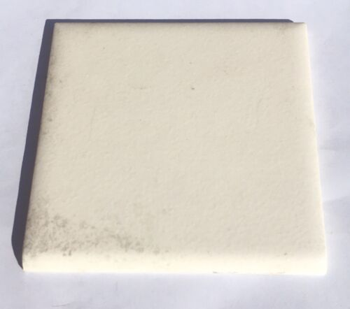 Surplus Vintage White 4x4 Ceramic Bullnose Tile /'Wenczel/'-1 Piece