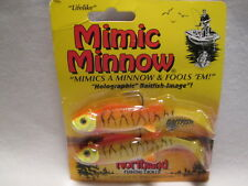 "3//4 Oz Gold Shiner Northland Tackle 4/"" Mimic Minnow New 4 Total Baits"