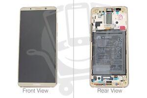 Genuine Huawei Mate 10 Pro BLA-L09, BLA-L29 Brown LCD Screen & Digitizer - 02351