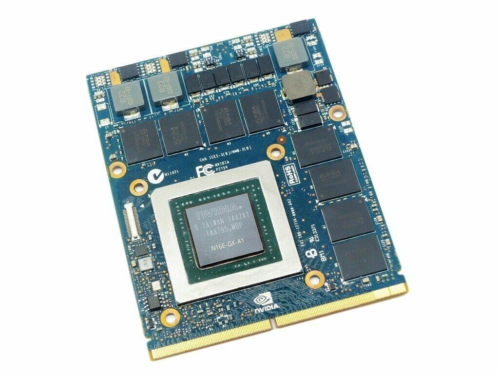 Nvidia GeForce GTX 980M 8GB DDR5 MXM 3.0 B for Alienware M17x M18x HP 8770W