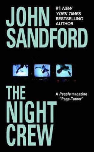 1 of 1 - The Night Crew - John Sandford paperback GC Thriller! (combine & save postage)