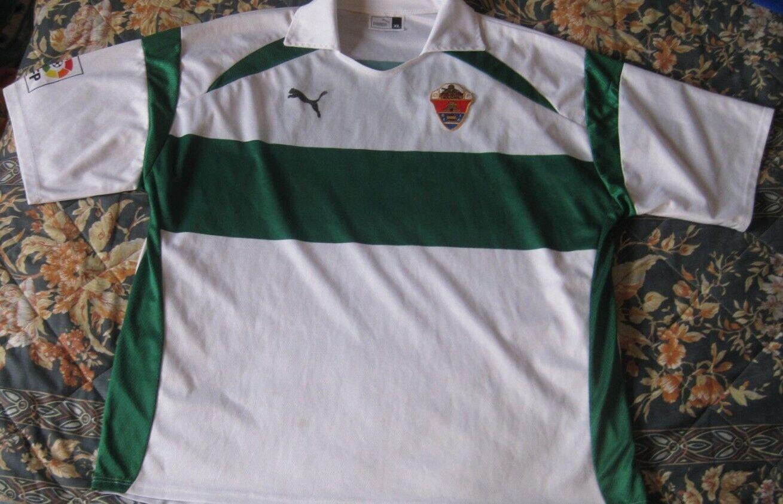 Camiseta Shirt Trikot Maillot ELCHE Elx Puma Sin publi Dimensione XL