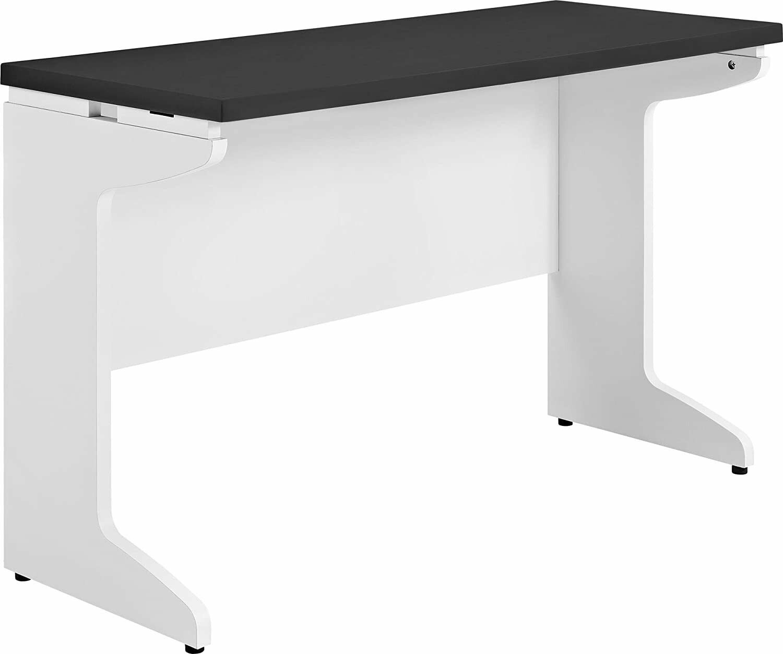 Executive Office Furniture Desk Bridge Wood Large Computer Business Modern White For Sale Online