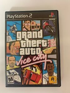 Grand Theft Auto Vice City Play Station 2 Used Game A07