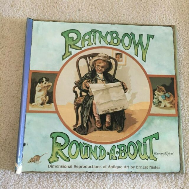 ERNEST NISTER. RAINBOW, ROUND.A.BOUT. HARDCOVER. 0749810297