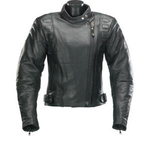 SPADA-ROAD-LADIES-LEATHER-MOTORCYCLE-Jacket-Sport-Women-039-s-CE-Armour