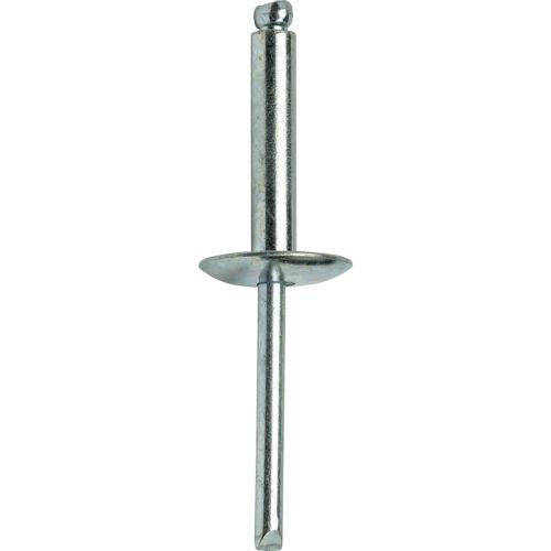 "Dome Head Qty 25 8-12 Large Flange Pop Rivets 1//4/"" x 3//4/""All Steel"