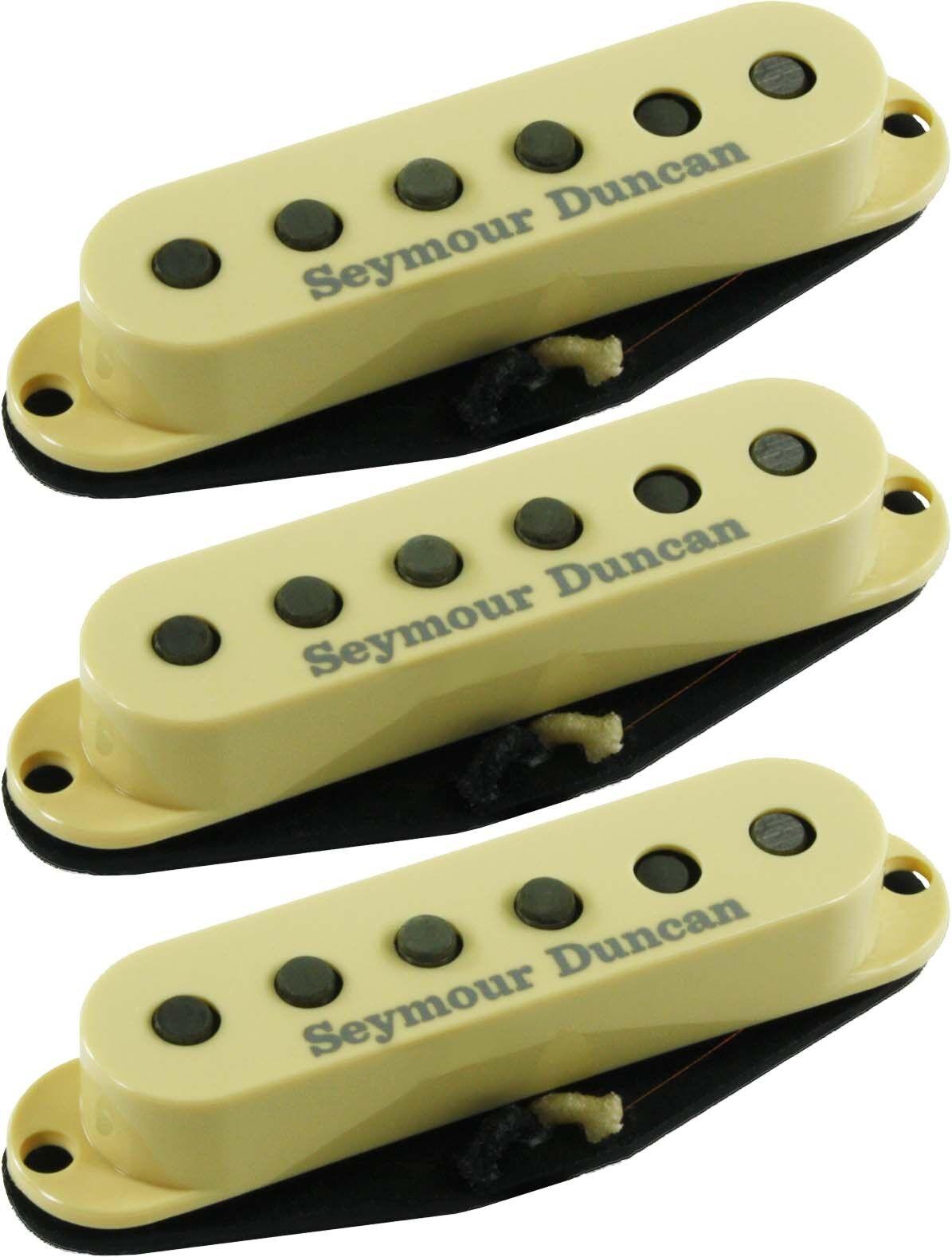 Seymour Duncan SSL-52s Five-Two Strat Neck Middle Bridge Pickup Set, Cream, NEW