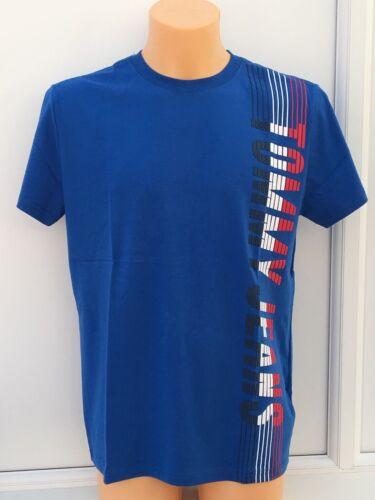 Tommy Hilfiger Camiseta azul con logotipo gráfico Grandes Tamaños M /& 2XL BNWT