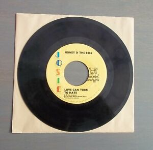 Details about HONEY & THE BEES, 70s SOUL 45, LOVE CAN TURN TO HATE, JOSIE  LABEL