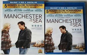 MANCHESTER-BY-THE-SEA-BLU-RAY-DVD-2-DISC-SET-SLIPCOVER-SLEEVE-FREE-SHIPPING