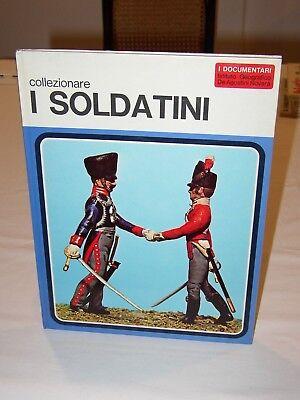 """Cosciente Libro """"collezionare I Soldatini"""" - De Agostini - 1972 - Prima Edizione - Nuovo Forma Elegante"""