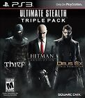 Ultimate Stealth Triple Pack (Sony PlayStation 3, 2015)