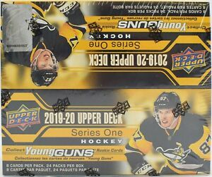 2019-20-Upper-Deck-Series-1-Hockey-24-Pack-Box-Sealed-Retail-Box