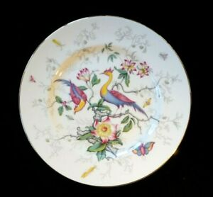 Beautiful-Coalport-Cairo-Peacock-Multi-Colour-Salad-Plate