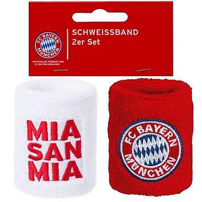 FC Bayern M/ünchen Schwei/ßband 2er-Set