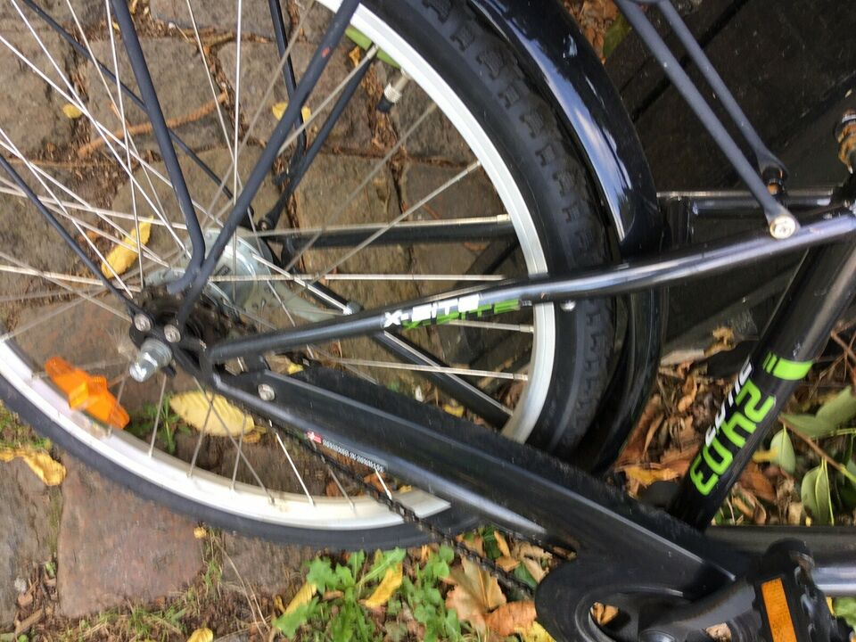 Drengecykel, citybike, 23 tommer hjul