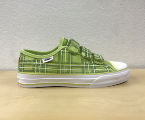 Vans Prison Issue TM Plaid Daiquiri Green Women's Sizes US New In Box