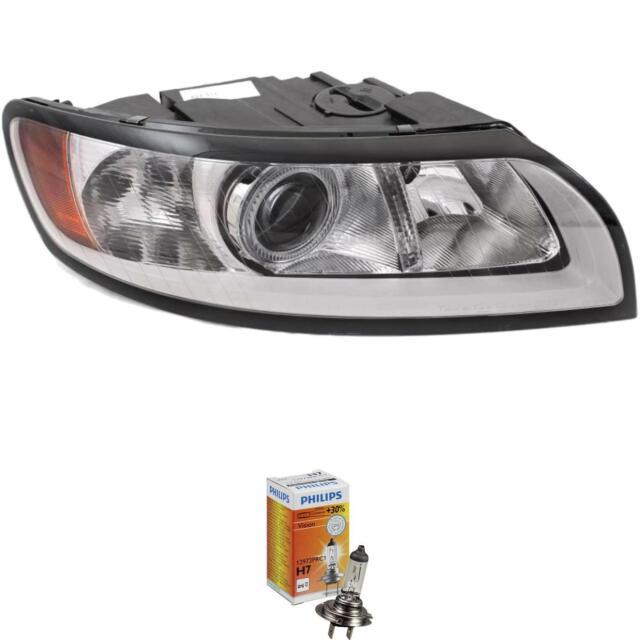 Faro Derecho Volvo S40 V50 M Año 07- >> Reflector Gris H7+ H9+ Motor