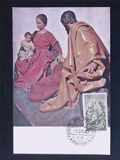 SPAIN MK 1962 NAVIDAD CHRISTMAS WEIHNACHTEN MAXIMUMKARTE MAXIMUM CARD MC c5395