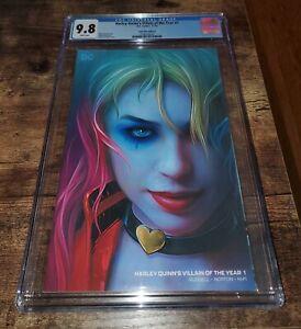 Harley-Quinn-Villain-Of-The-Year-1-CGC-9-8-Graded-Maer-Minimal-Trade-Variant
