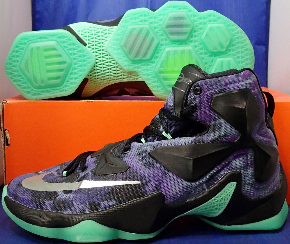 Nike Lebron XIII Erie 13 iD Purple Erie XIII Noir vert Silver Homme  Chaussures de sport pour hommes et femmes eb6631
