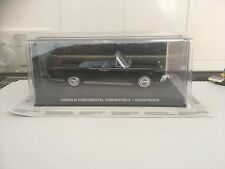 James Bond Car Collection 132 Lincoln Continental Convertible 1/43 Mint